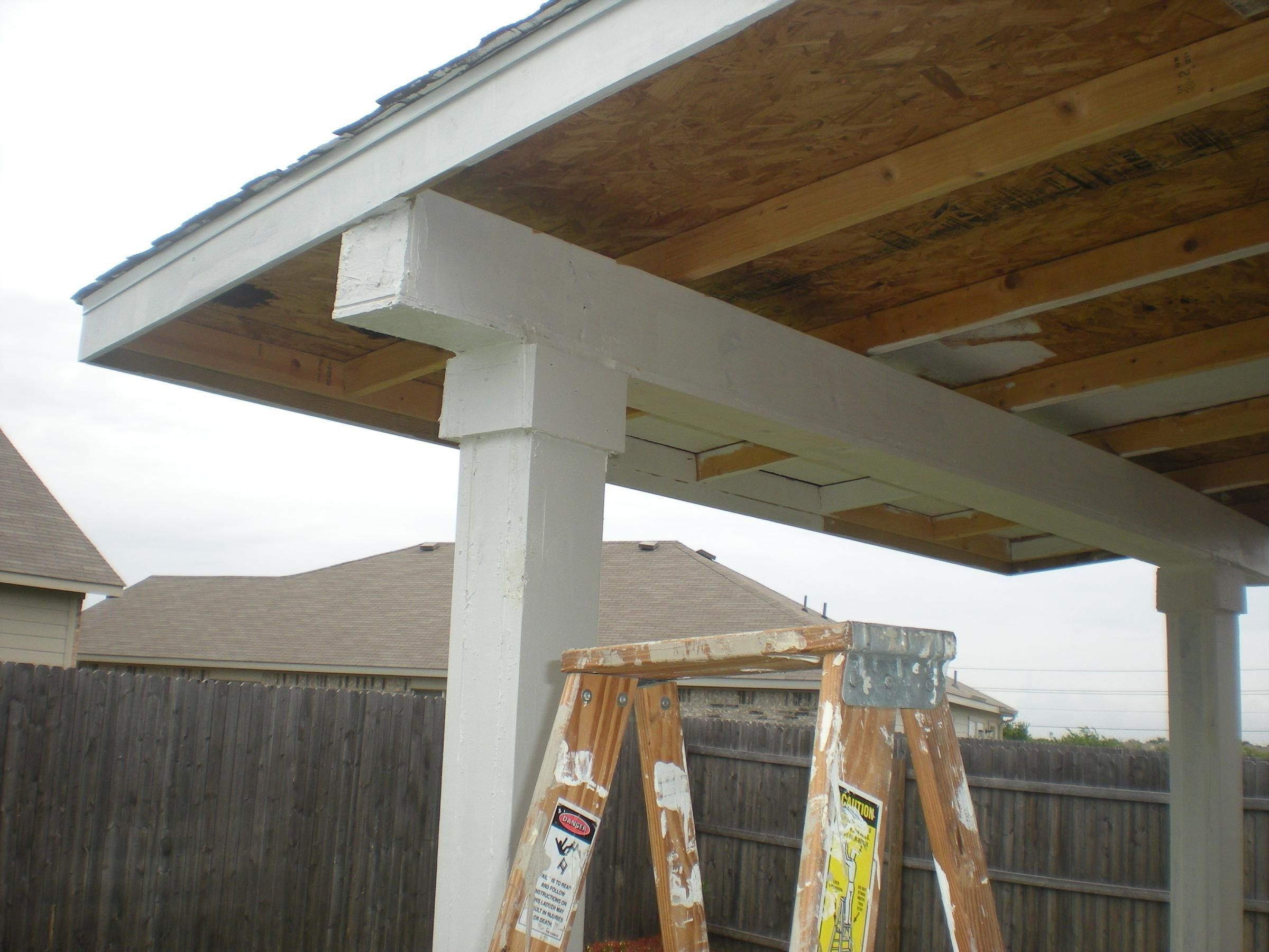 how to build a patio cover pt 2 must