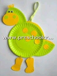 Paper plate dinosaur craft idea for kids  sc 1 st  Pinterest & Animals Crafts from Paper Plate for Kids - Preschool and ...