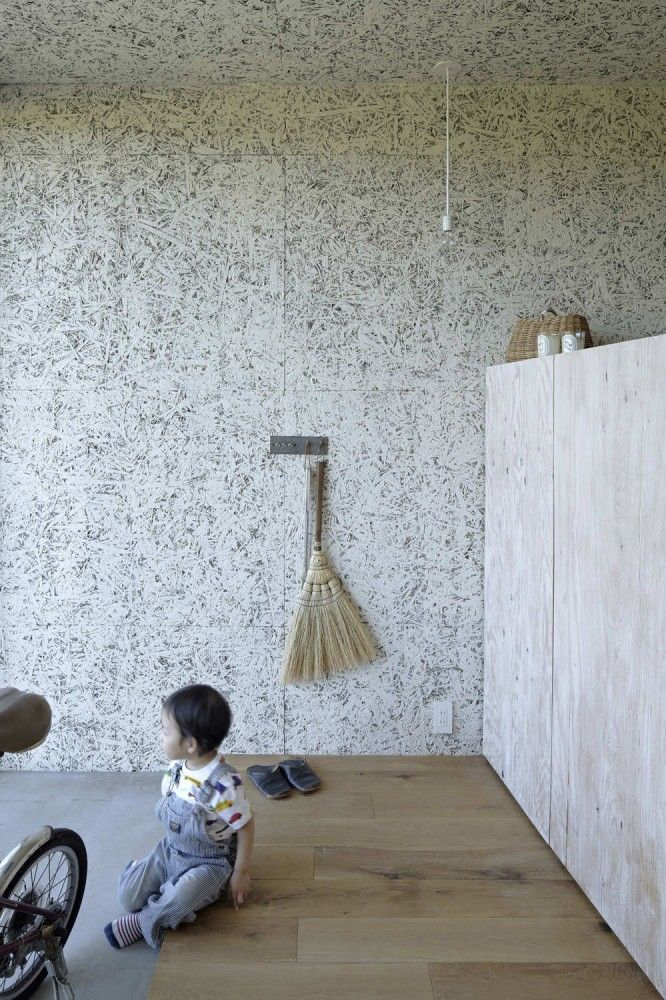 Myz Family House No 555 Wall Treatments Painted Osb