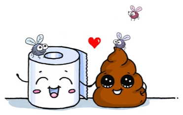 Poop & Toilet Paper   Art/Drawings   Kawaii drawings ...