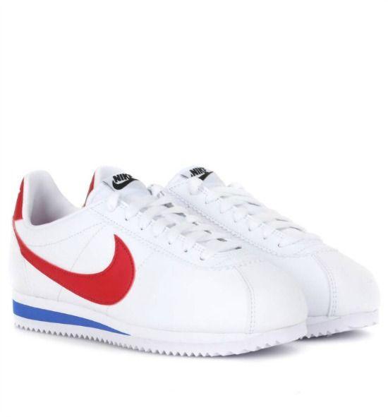 Nike Womens Classic Cortez leather sneakers White, White Sneakers
