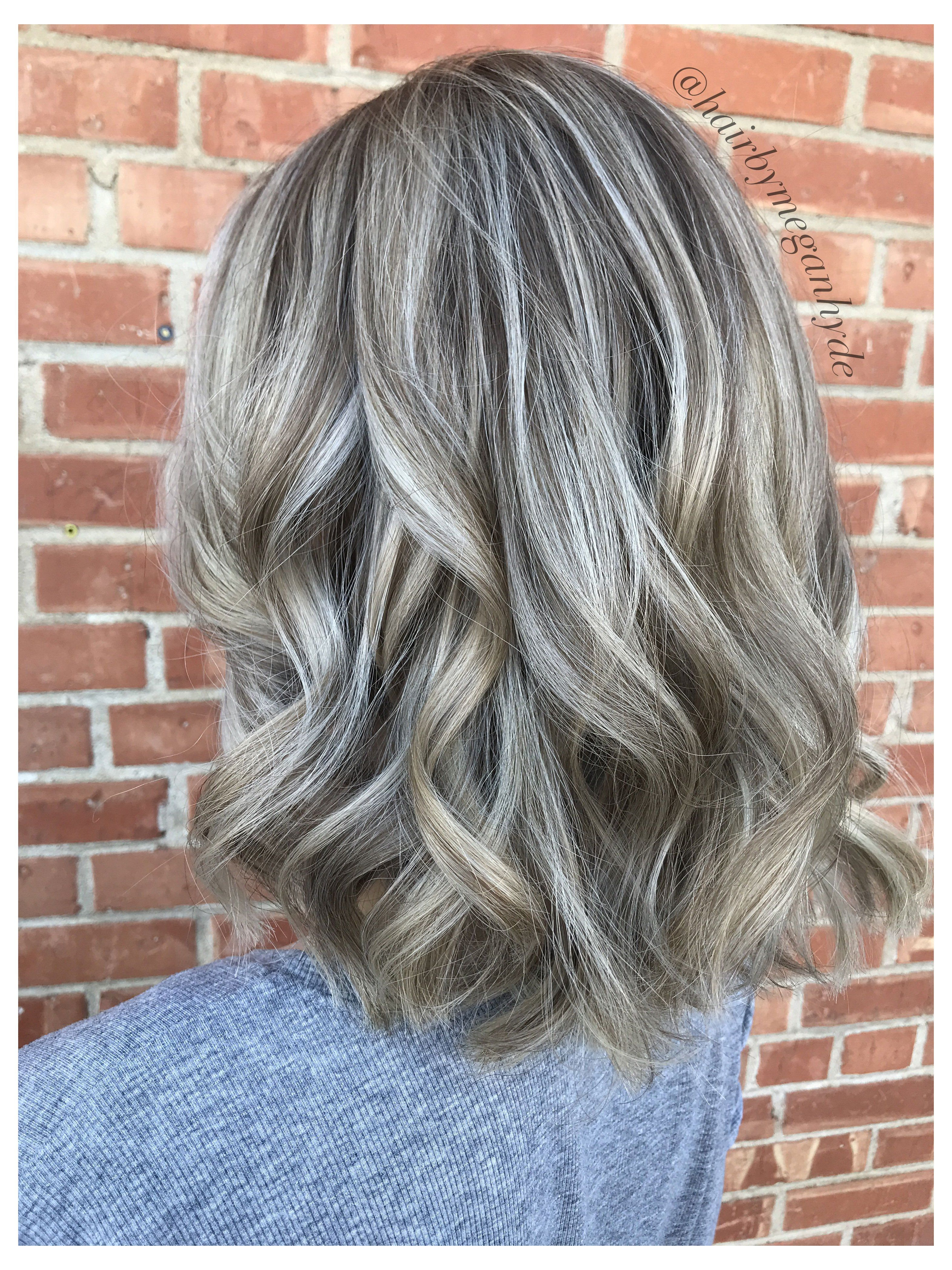 dark blonde hair with highlights ash