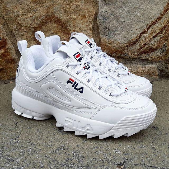 Restock Alertall Sizes Availables Fila Disruptor Low White Size Wmns Price Fila Schuhe Schuhe Turnschuhe Schuhe