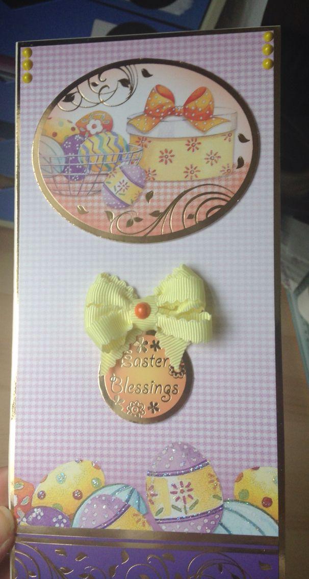 Easter card made using Hunkydory