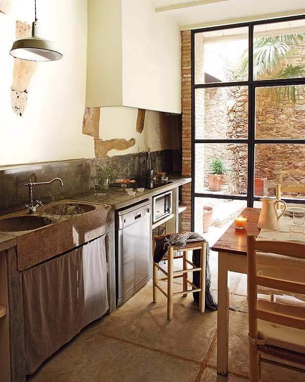 Charming Rustic Kitchen Ideas And Inspirations: Charming Spanish Villa Breathes New Life