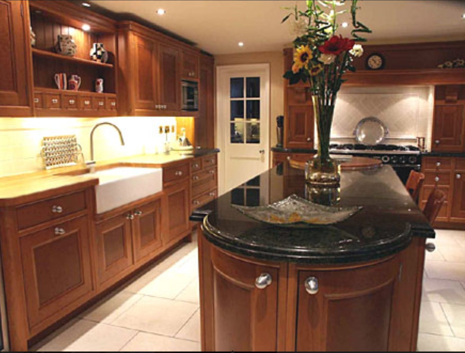 black countertop is not bad idea traditional kitchen design on kitchen decor black countertop id=31215