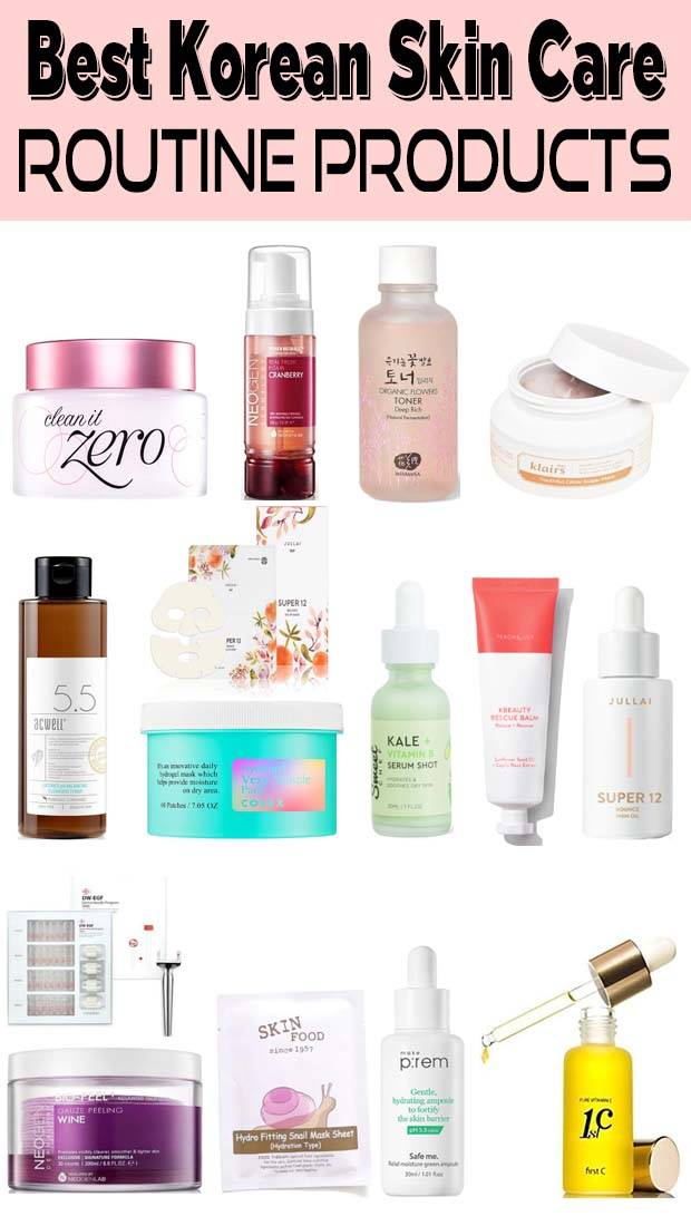 10 Steps Korean Skin Care Routine Day And Night in 2020