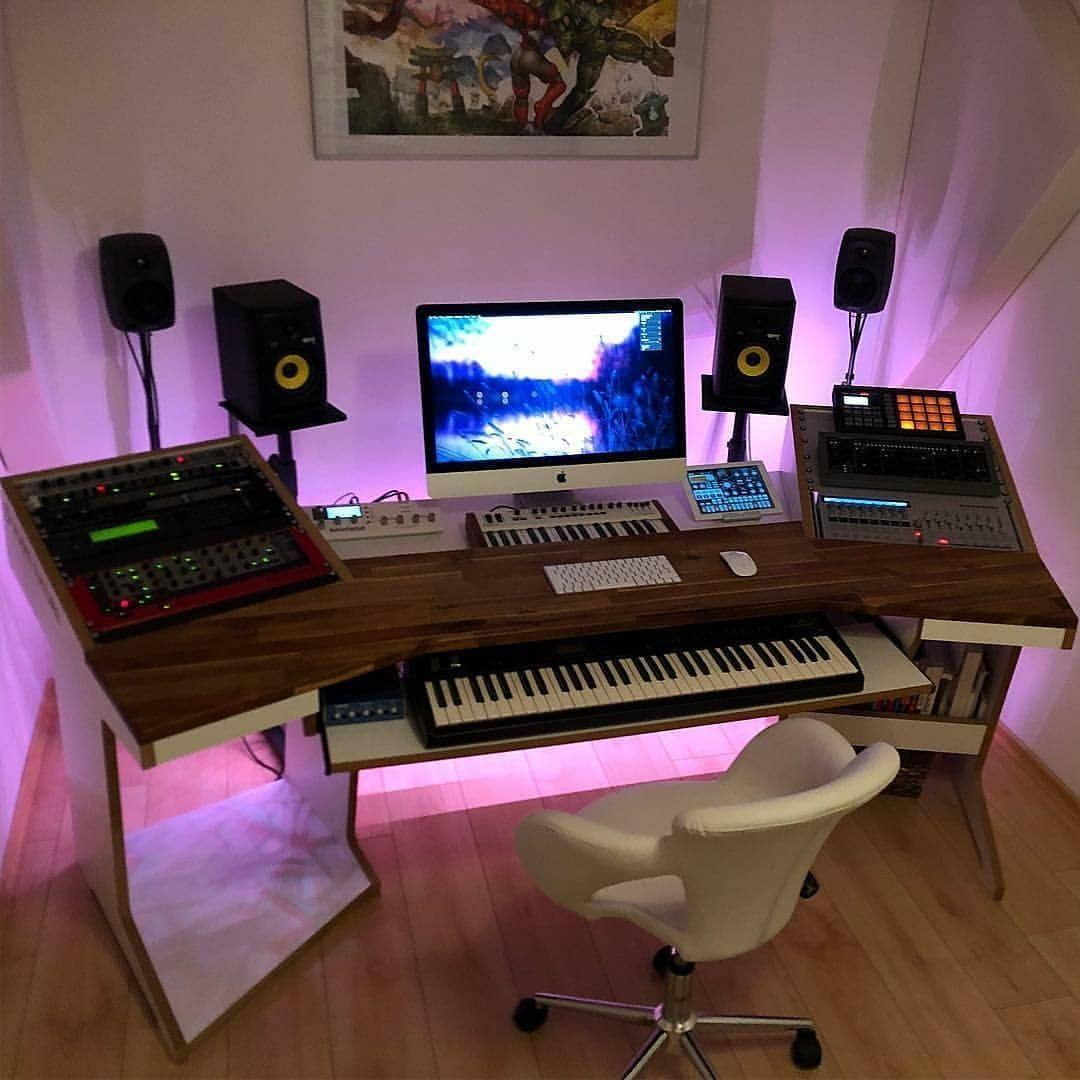 7 Led Music Studio Lighting Setups 7 Cool Led Light Options Music Studio Room Home Studio Setup Music Studio Decor