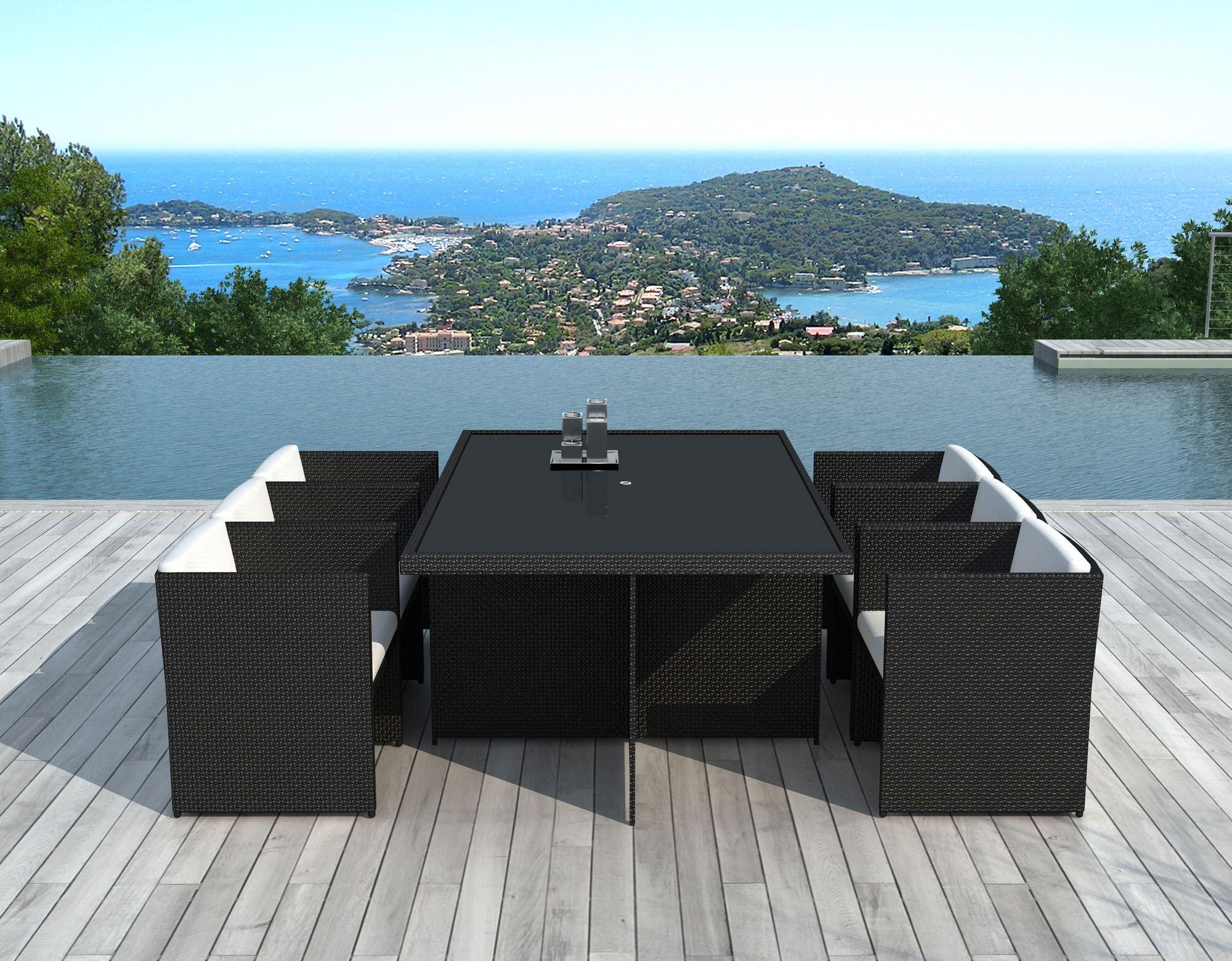 Sd8231Noir - Table Et Chaises De Jardin | Pinterest