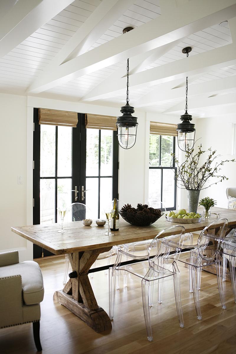 Diy Farmhouse Style Dining Table Domestically Creative Diy