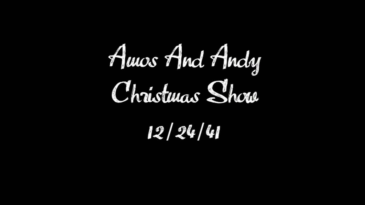 Amos and andy christmas show old time radio old time