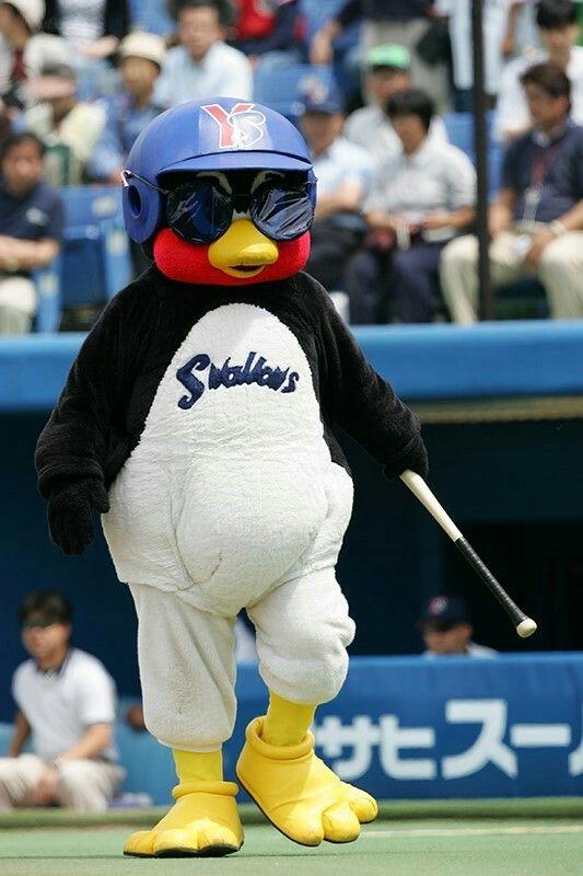 Sunglasses つば九郎 野球 マスコット 球団マスコット