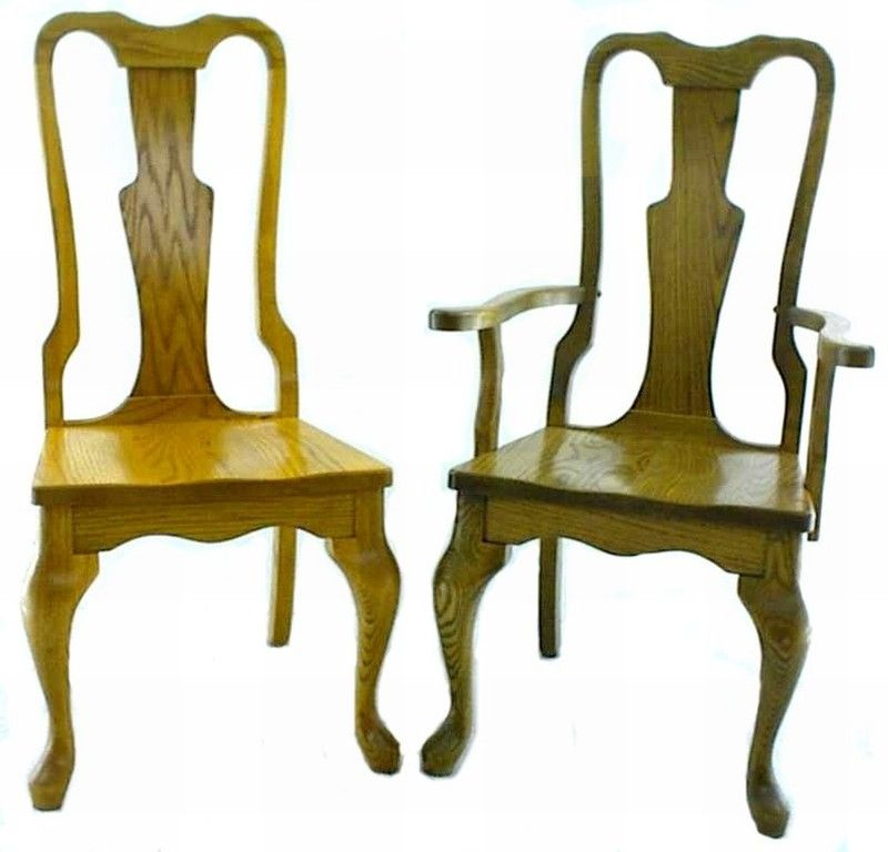 Strange Amish Queen Anne Style Dining Room Chair Dining Room Dailytribune Chair Design For Home Dailytribuneorg