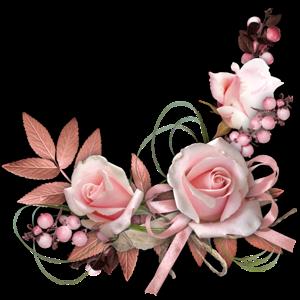клипарт декоративные элементы *уголки цветочные ...