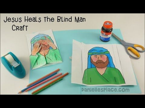 3 Jesus Heals The Blind Man Craft
