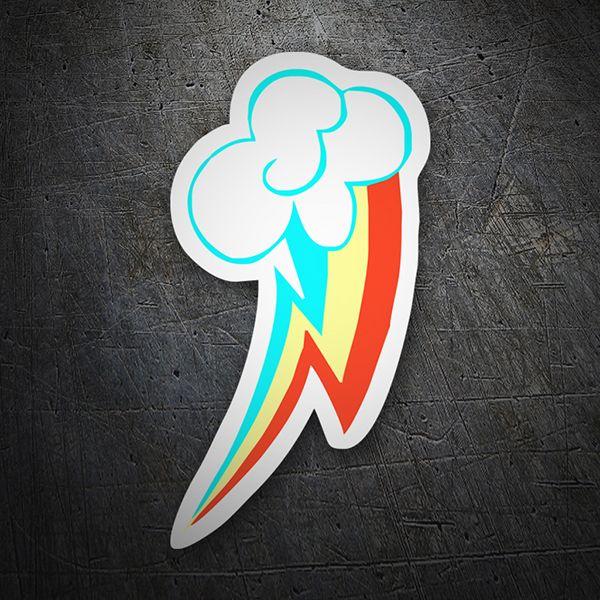 Pegatinas: Rayo arcoiris #skate #surf #pegatina #sticker | PEGATINAS ...