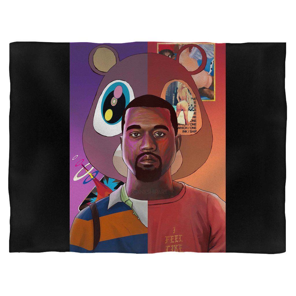Kanye West Hip Hop Music Blanket In 2020 Music Art Print Print Pictures Poster Prints