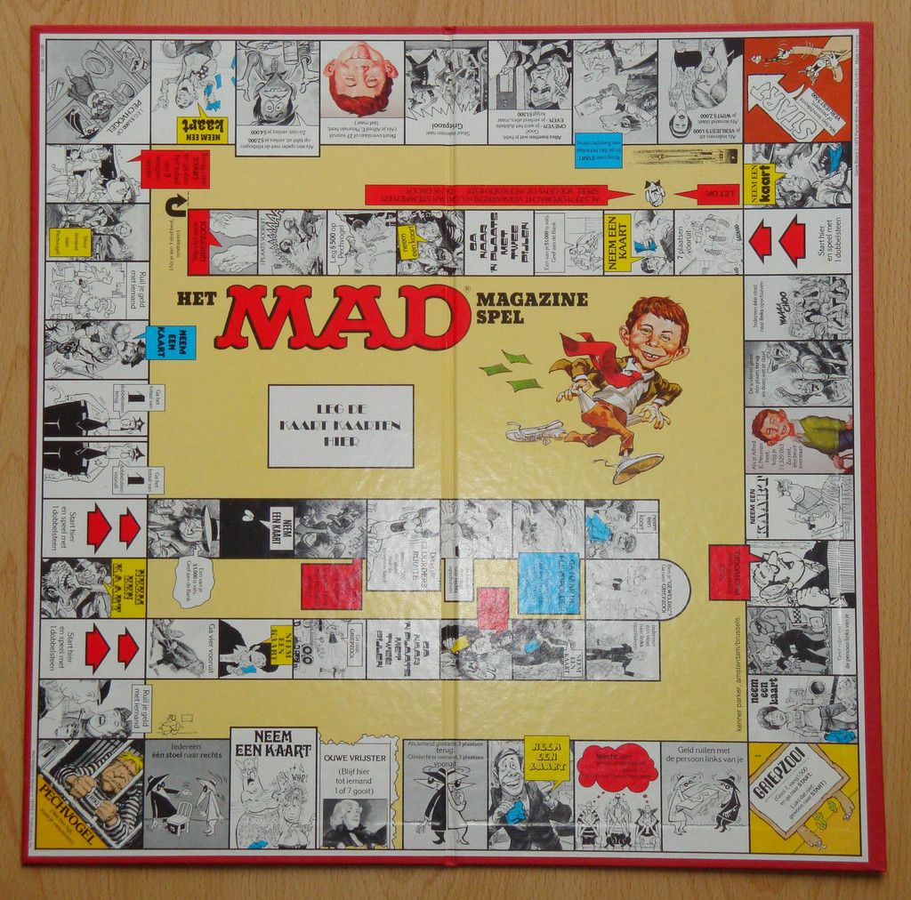 Mad Board Game Family Game Night Board Games Games