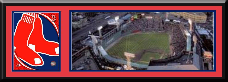 Boston Red Sox Fenway Park Print-Framed