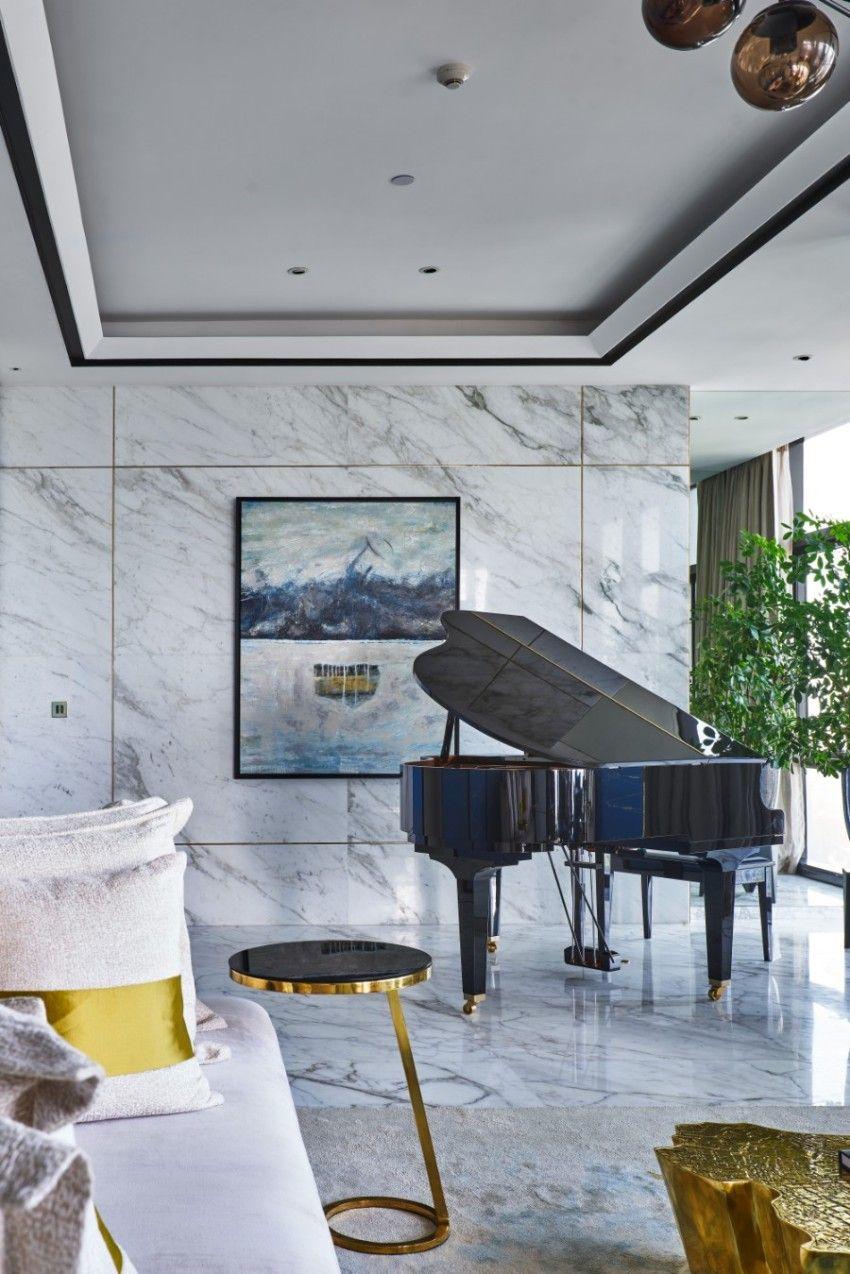brilliant room design inside altamount residence by hirsch bedner rh pinterest com