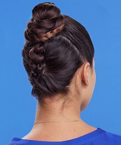 The Top Knot To End All Top Knots #braidedtopknots Braided Top Knot – How To Cre…