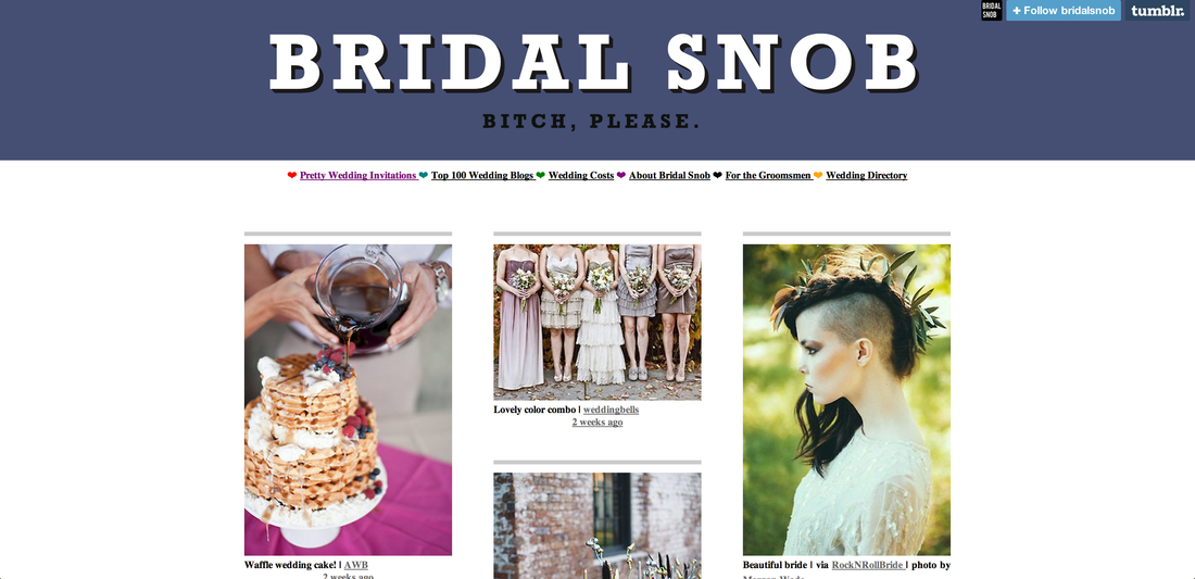 Top Wedding Blogs Bridal Snob Best Wedding Blogs Wedding Blog Wedding