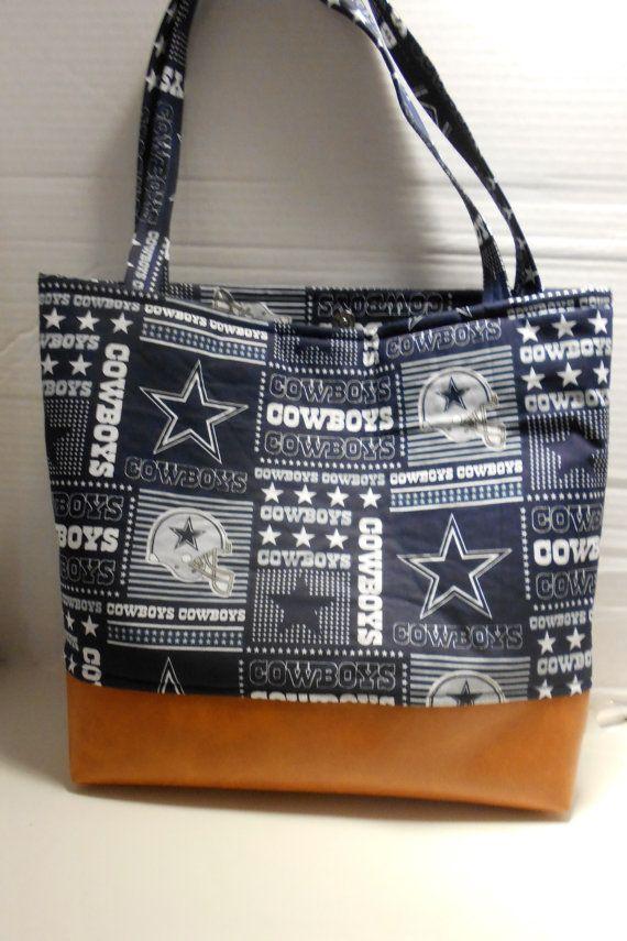 Dallas Cowboys Diaper Bag Tote