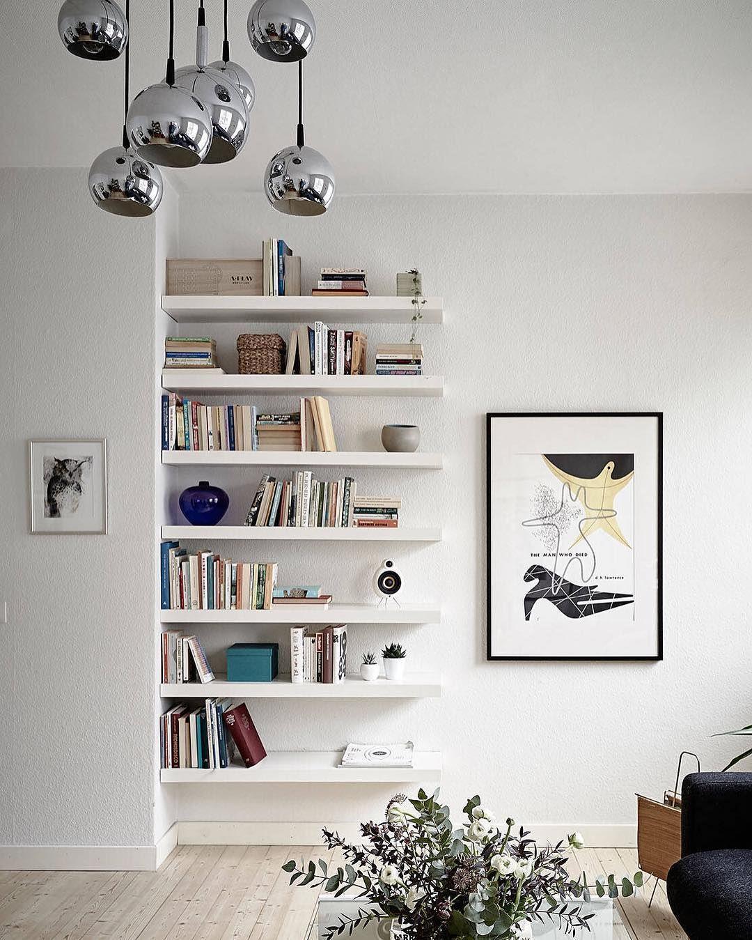 Wall To Wall Shelves bäckegatan 27 b | 3 rok, 73.0 kvm ljus och luftig trea med