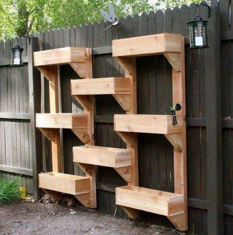 16 Creative Diy Vertical Garden Ideas For Small Gardens: Vertical Garden Planter Boxes Ideas