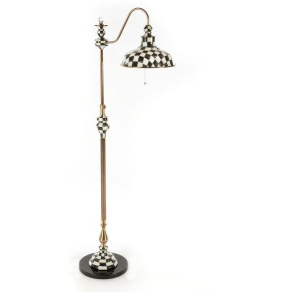 Courtly Farmhouse Floor Lamp Liked On Polyvore Featuring Home Lighting Floor Lamps Farmhous