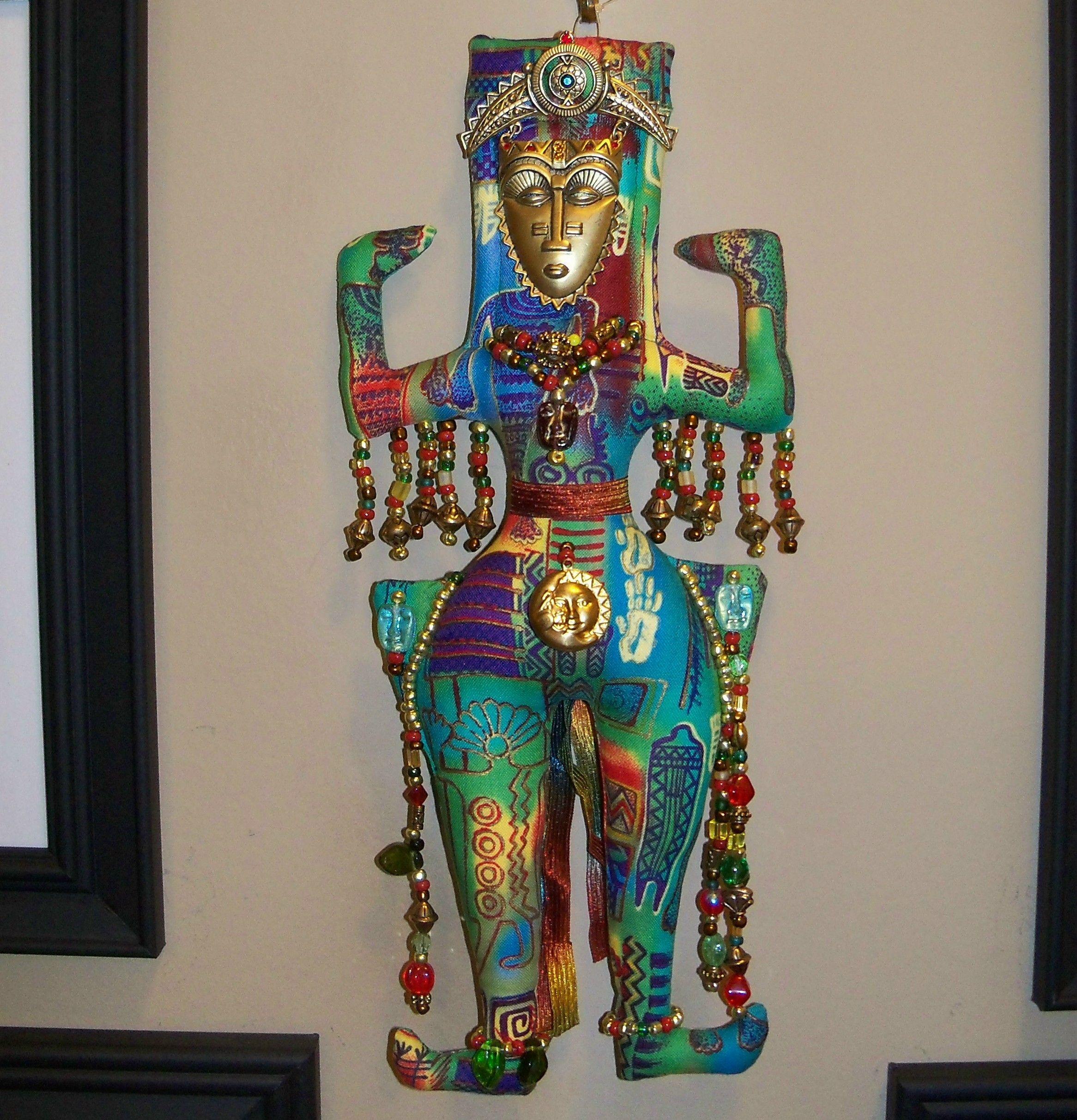 shaman tribal doll, sad to sell it!  ArzieHodge