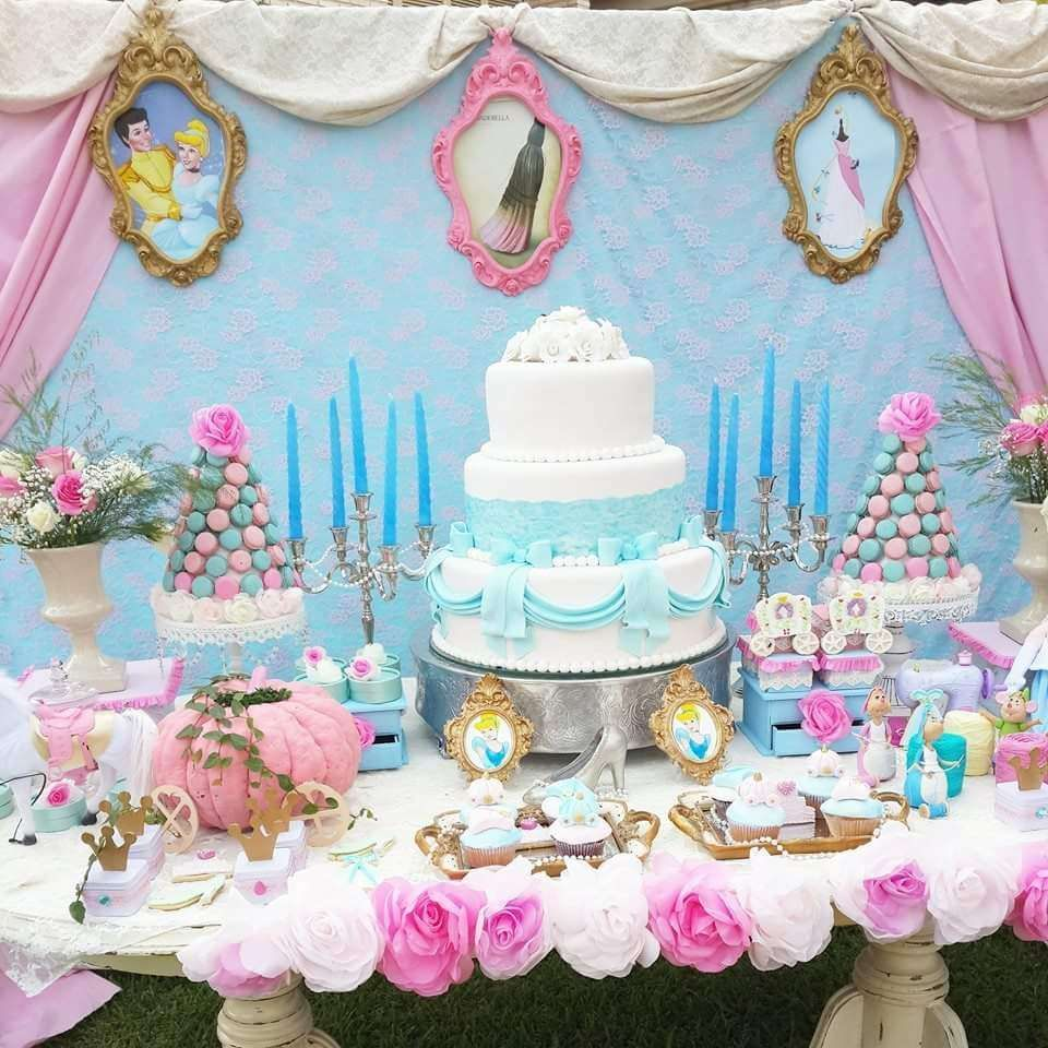 Cinderella Birthday Party Ideas Cinderella Birthday Disney Princess Birthday Party Cinderella Party Theme