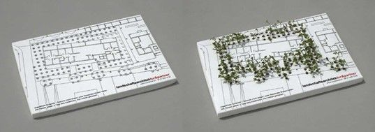 Business card design better than a plain ol business card growing card for a landscape architect firm designed by jung von mattvia smashing magazine reheart Gallery