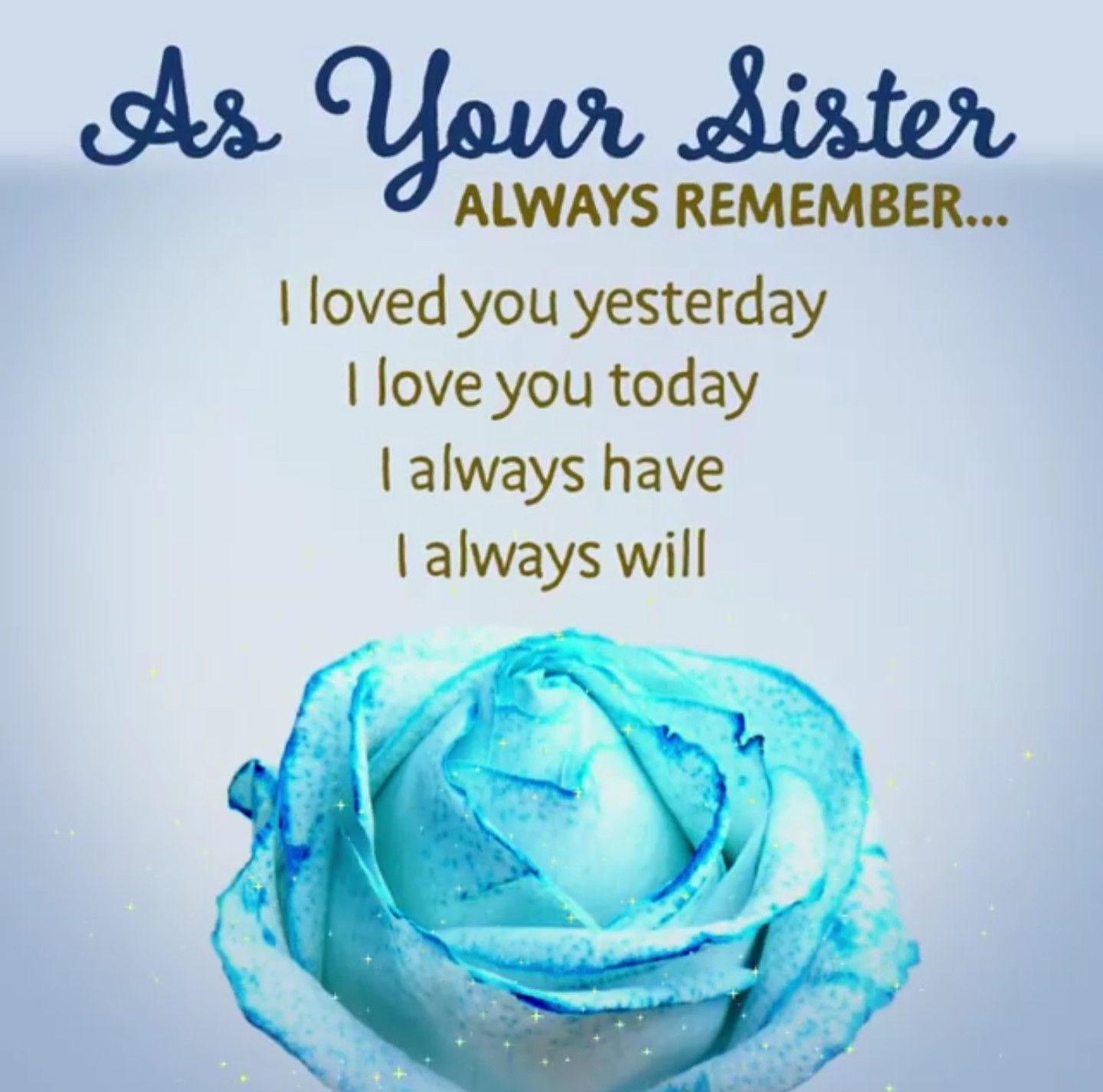 Pin By Amy On Memories Special Lil Sis Love You Forever I Will Always Love You Quotes Always Love You Quotes Love Your Sister