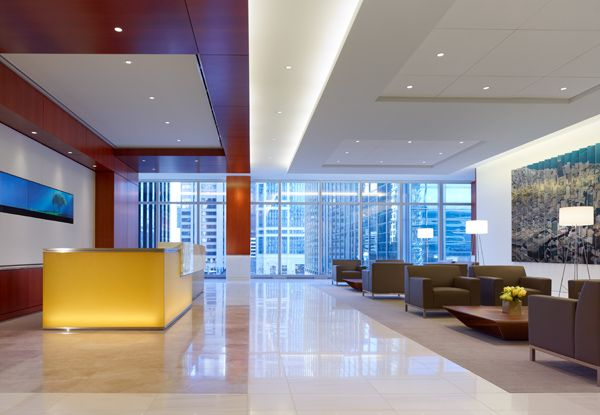 IA Interior Architects Headquarters For Mesirow Financial In Chicago Uses The Lutron Quantum Light Control