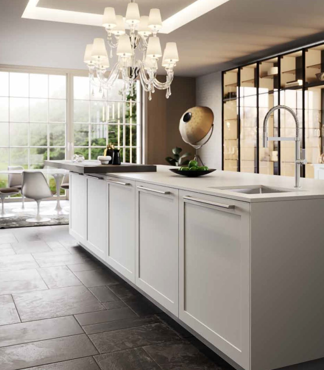 THE NEW TRANSITIONAL KITCHEN - AK GALLERY BY #ARRITAL CUCINE ...