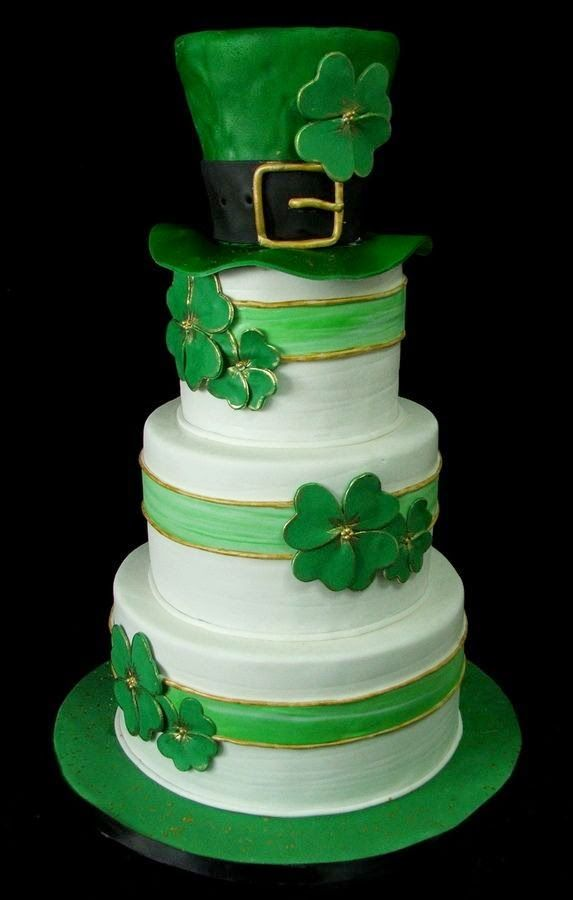 St Patrick S Day Wedding Cake Inspiration St Patricks Day Cakes Irish Cake Irish Birthday Cake