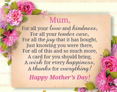 LONG AND SHORT ESSAY ON MOTHER'S DAY IN ENGLISH Mothers