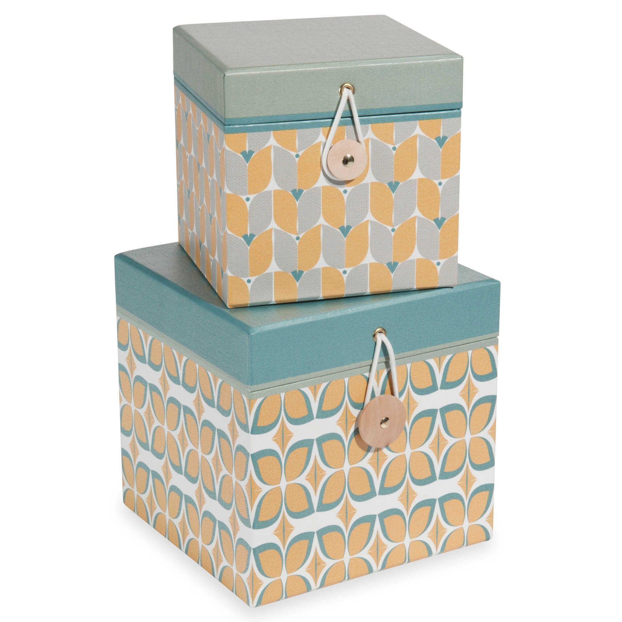 2 w rfelf rmige boxen aus pappe l12 und l15 cm faraday bureau pinterest pappe box und. Black Bedroom Furniture Sets. Home Design Ideas