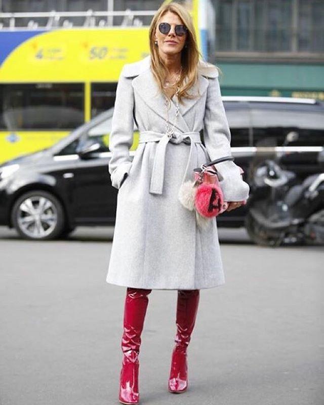 #pfss16  @fwstreetstyle Wearing @stellamccartney #coat  @dior #boots  @loewe #bag @fendi #bagcharm  @spektresunglasses  #hairstyle by @satoshiklein