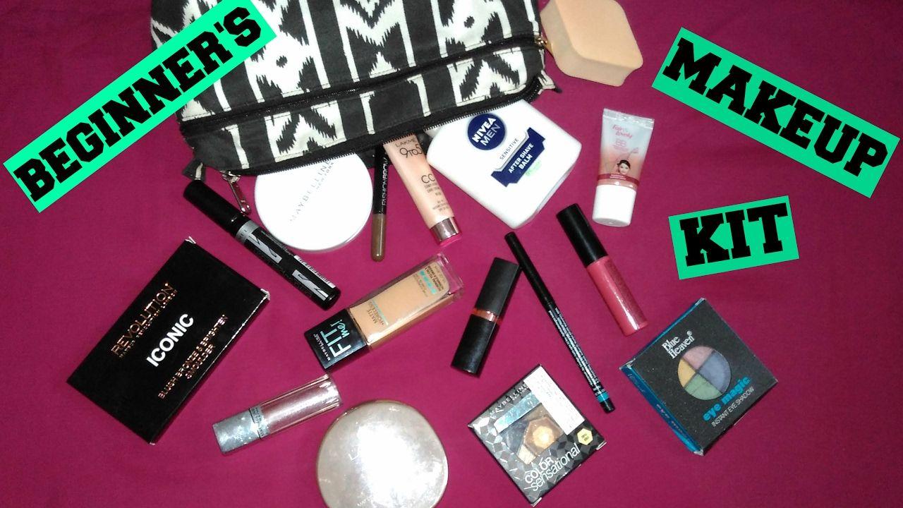 Makeup Starter Kit for Beginners   Affordable Indian Drugstore Makeup Ki.