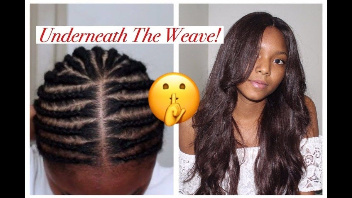 How To Braid Your Hair Under A Wig Video Black Hair Information Community Hair Styles Natural Hair Styles Hair