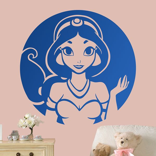 Vinilos Infantiles Disney.Vinilos Infantiles Aladdin Princesa Jasmine Jasmine