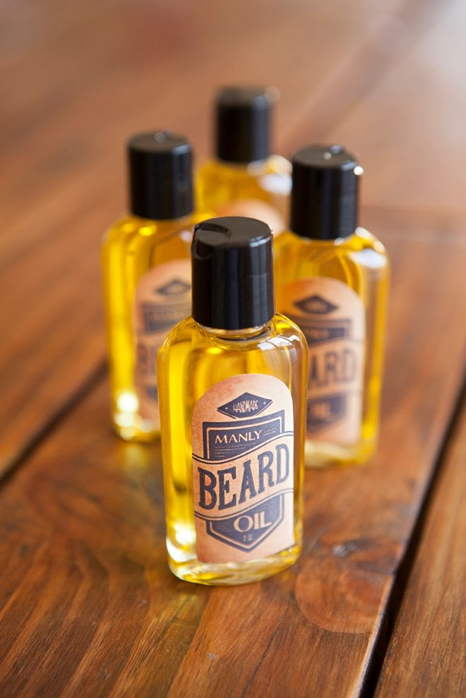 Learn How To Make Your Own Manly Beard Oil!   DIY Wed