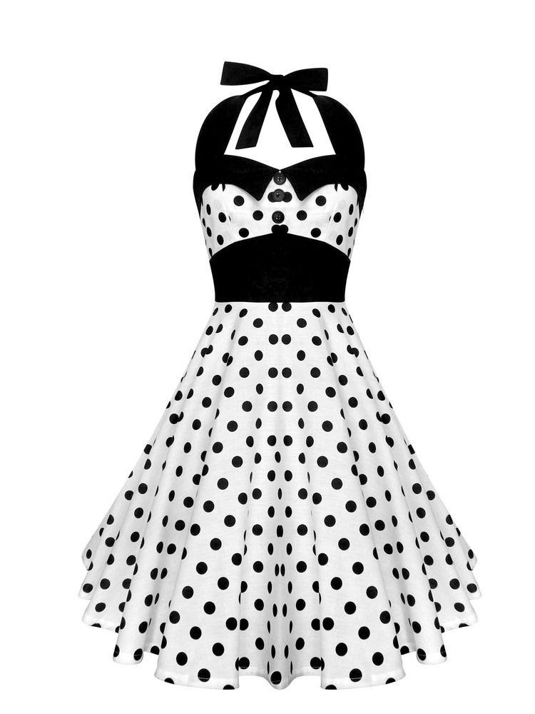 Das Kleid besteht aus 100% leichter Baumwolle. Am Rücken befindet ...
