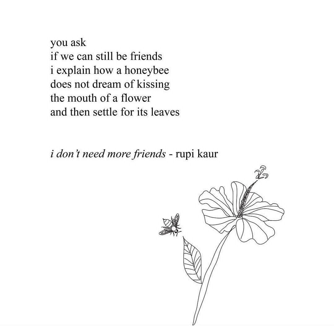 Flower Quotes, Rupi Kaur Quotes, Quotes