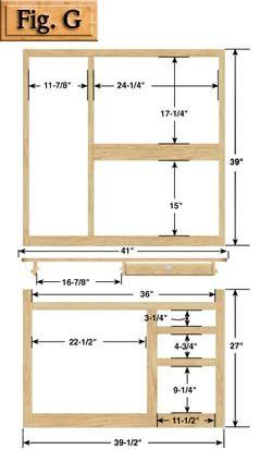 Hoosier cabinet plans kennedy hardware llc mine for Muebles de oficina kennedy