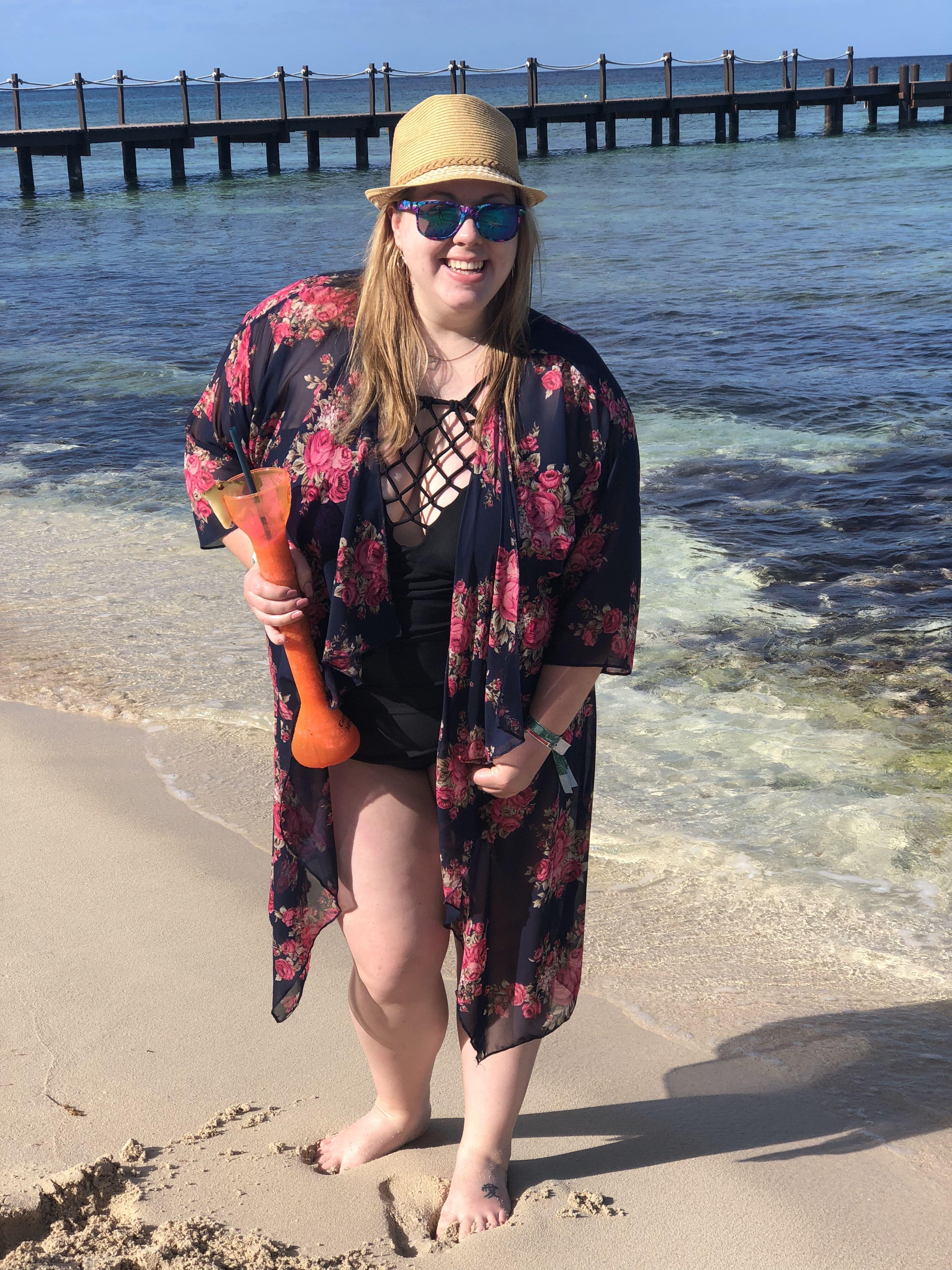1c519c4cdf Lularoe Shirley kimono makes the perfect bathing suit cover up!  Facebook.com/groups/rebekhaslularoe