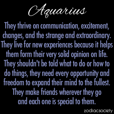 About things aquarius know to 10 things