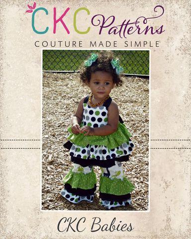 Baby Kiki's Extra Ruffled Top PDF Pattern